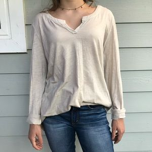 Nordstrom Long Sleeve Top